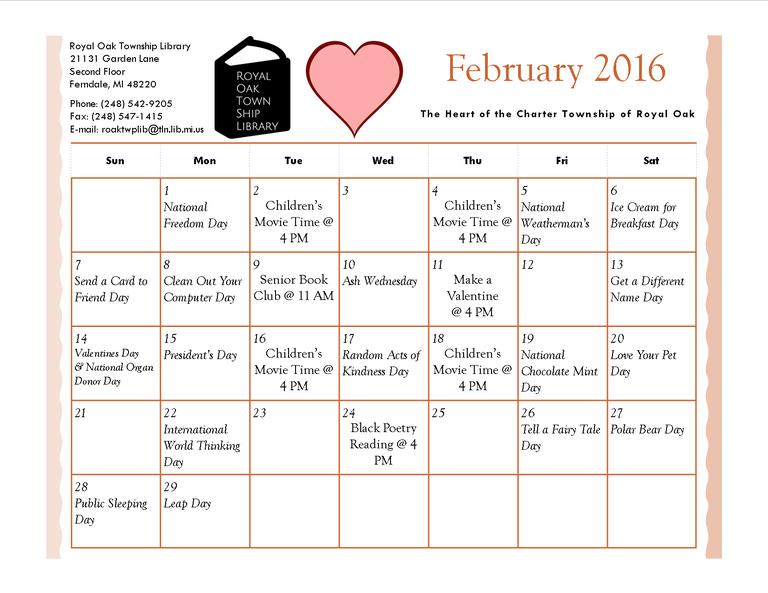 Feburary 2016 Calendar.png